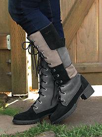 Women's Sahalie Patchwork Waterproof Boots