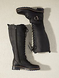 Martino Waterproof Tall Lace-Up Boots
