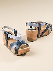 Women's Bussola Cross-Strap Platform Sandals