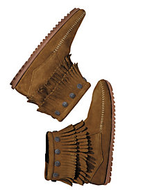 Women's Minnetonka Fringe Booties