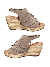 Minnetonka Ashley Wedge Sandals