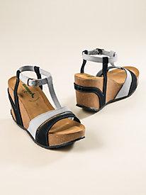 Women's BioNatura Antonia Wedge Sandals