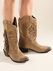 Women's Roper Fashion Fringe Boots