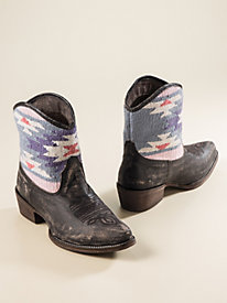 Women's Roper Serape Booties
