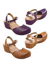 Women's Spring Step Lizzie Wedge Sandals