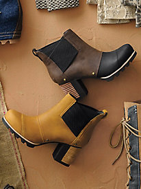 Sorel Waterproof Addington Chelsea Booties