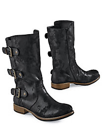 Moto Vintage-Look Boots