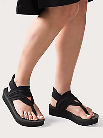 Yoga Sling Wedge Sandals