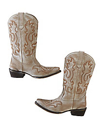 Pearl Cowgirl Boots