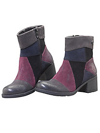 Bussola Hoyt Patchwork Booties