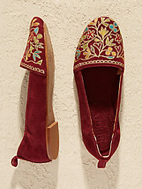 Latigo Bliss Embroidered Flats