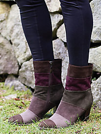 Piroska Colorblock Booties