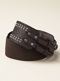 Women's Two Buckle Stretch Belt