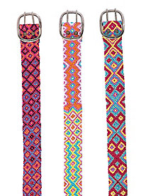 Colorful Belt by Sahalie