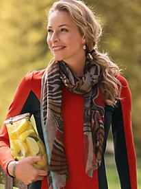 Women's Tigress Wool/Silk Scarf