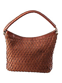Woven Leather Bag