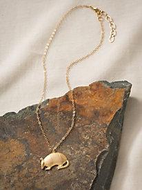 Women's Armadillo Necklace
