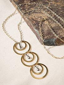 Women's Moonscape Necklace