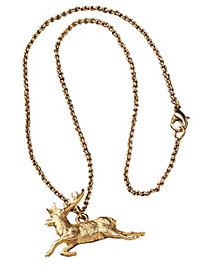 Women's Stag Necklace