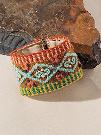 Women's Wildflower Cuff Bracelet