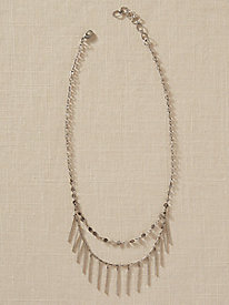Double Fringe Necklace
