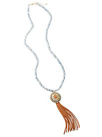 Beaded Pendant Tassel