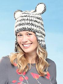 Women's Critter Knit Hat