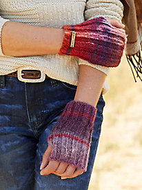 Space Dye Fingerless Gloves