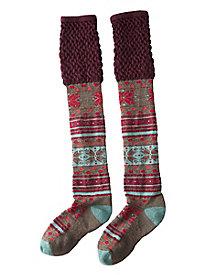 Women's SmartWool Fiesta Flurry Knee Socks