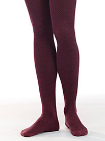 Women's Italian Herringbone Tights by Sahalie