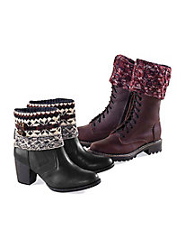 Women's Knit Boot Toppers