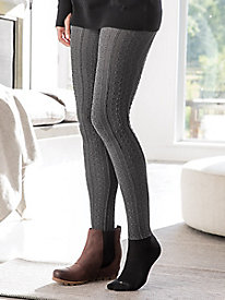 Bootights Cable Knit Tight