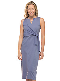 Women's Demi-Wrap Knit Dress