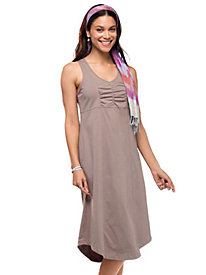 Women's Ruched Knit Tank Dress
