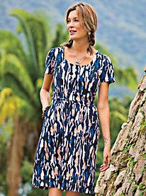 Women's Love that Print Knit Dress