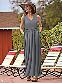 Tasteful Knit Maxi Dress