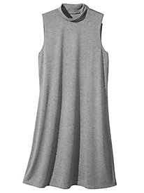 Get into the Swing Knit Sleeveless Dress