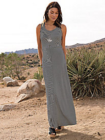 New Snip-to-Fit Chevron Maxi Dress