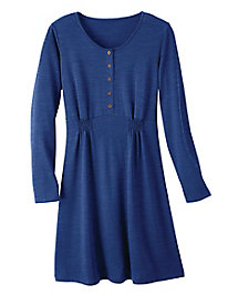 Heather Canyon Henley Dress