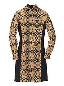 Jacquard Safari Multi Dress