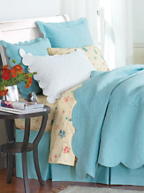 Elena Trapunto Quilted Coverlet