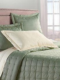 Elite Sateen 550 Thread Count Quilted Coverlet & Shams