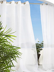 Escape Grommet Top Sheer Curtain by linensource