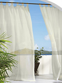Escape Tab Top Curtains by linensource