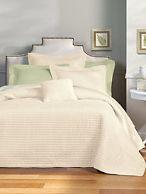 Estate Tiles Quilted Pillow Sham