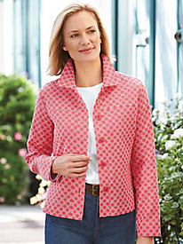Textured Dot Jacket