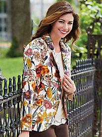 Autumn Floral Jacket
