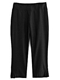 Comfort-Waist Slimming Crop Pants