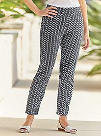 Comfort-Waist Slimming Pants