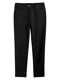 J.G. Hook® Jean-Style Ponté Pants